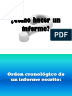 Cc3b3mo Hacer Un Informe