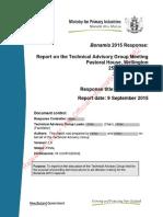 Bonamia 2015 TAG Report