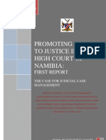 Promoting Access to Justice in the High Court of Namibia