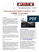 Implementing Scrum and CMMI.pdf