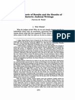 The Rhetoric of Results and the Results of Rhetoric_ Judicial Wri