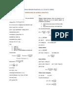 Formulario Química Analítica