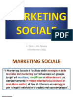 Marketing Sociale Tanzi