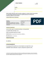 Imprimación base solvente