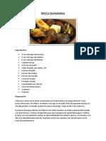Resumen 1h - Receta Pachamanca