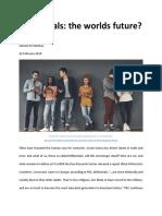 millennials the worlds future - online magazine draft