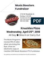 april 2018 knuckles flyer