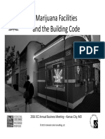 Marijuana and the Building Code