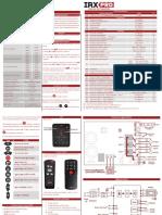 Manual Irx Pro 3 Reles