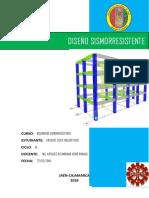 Diseño antisismico de una edificación de cuatro niveles de 8mx16m