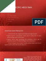 Ppt Musculo Non Spesifik Neck Pain