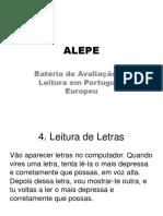 ALEPE - Prova 4_minúsculas