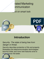 Smart Lock Project - IMC