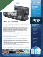 Comar CSA300 Transponder