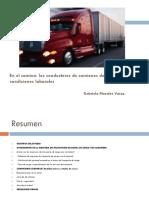 En El Camino Los Conductores de Camiones de Carga y Sus Condiciones Laborales