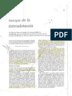 La Miopía en La Mercadtecnia