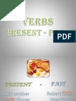 Verb.. Present - Past