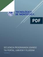 Tutorial 3 (Secuencia Programda Usando TIA Portal, LabVIEW y FluidSIM)