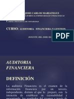 Auditoria Financiersa y Gestion