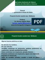 201601 Tutorial Base de Datos y Java