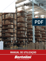 Manual de Utilização Porta Palete Bertolini
