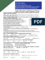 Matematicas 4to Secundaria