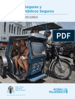 Safe Cities and Safe Public Spaces Global Results Report Es
