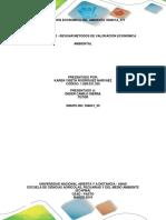 Revisión de Métodos de Valoración Económica