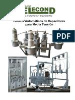 Bancos Automáticos de Capacitores Para Media Tensión - Elecond