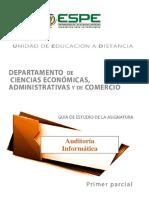 Guía 1, Auditoría Informatica
