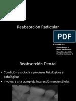 Reabsorción Dentaria