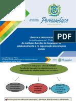 As Múltiplas Funções Da Linguagem No Estabelecimento e Na Organização Das Relações Sociais