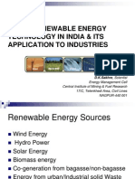 New & Renewable Technology in India