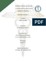 Control Prenatal y Cambios Fisiologicos