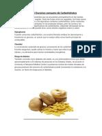 Consecuencias Del Excesivo Consumo de Carbohidratos y Lipidos