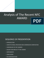 7th NFC Award