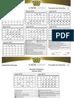 Calendario Licenciatura 2016A