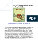 Fibonacci El SoÑAdor de Numeros