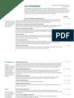 DataViz Checklist