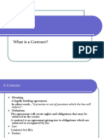 Law of Contract-I First Lecture