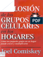 CRECIMIENTO de LA IGLESIA_la Explosión de Los Grupos Celulares en Los Hogares. Joel Komiskey