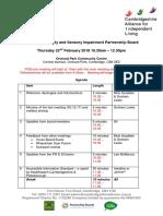 PDSI Agenda 22 02 18