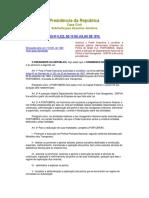 Lei 6222 10-07-75 Constituicao Portobras