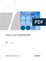 Layer 2 Loop Troubleshooting