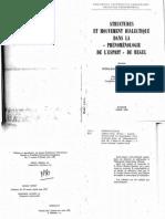 Structures Et Mouvement Dialectique Dans La Phenomenologie de Lespirit de Hegel_labarriere