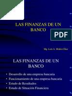 Las Finanzas de Un Banco