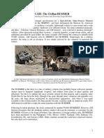 The Civilian HUMMER Case 2016