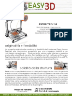 3DRAG 1.2 - Scheda Tecnica