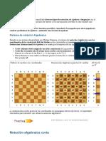 Notación - 123 ajedrez