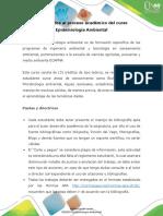 Presentacion Del Curso Epidemiología Ambiental